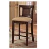 Rattan Inlay Bar Chair 100119 (CO)