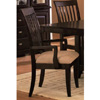 Cappuccino Finish Arm Chair 100183 (CO)