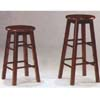 Solid Wood Bar Stool Set Of Two 9426_(WSW)