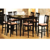7-Pc Cappuccino Finish Dining Set 100331/32 (CO)