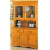 Oak Buffet & Hutch 1003-503 (WD)