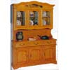Oak Buffet & Hutch 1003-60 (WD)