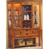 Solid Hardwood Mission Buffet/Hutch 100624 (CO)