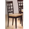 Cappuccino Finish Dining Chair 100772 (CO)