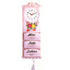 Letter Rack With Clock 1013 (PJ)