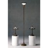 3-Pc Set Brown Finish Metal Base Lamps 1150 (CO)