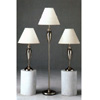3-Pc Chrome Plated Metal Base Lamps 1152 (CO)