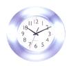 Chrome Finish Wall Clock 1251AL (PJ)