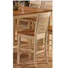 Buttermilk & Oak Counter Stool 1262-24 (WD)