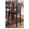 Black & Cherry Counter Stool 1264-241 (WD)
