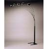 Satin Black Sofa Lamp 1297A(CO)