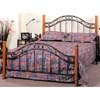 Sandy Black Queen Size Headboard/Footboard 1511Q (IEM)