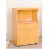 Microwave Cart w/Electrical Socket 1708 (ABC)