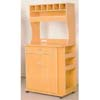 Microwave Cart w/Electrical Socket 1709 (ABC75)