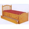 Captains Bed with Trundle/Drawer Unit 180-TDU (PR)