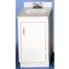19 In. x 17 In. Metal Vanity Base Cabinet (ARC)