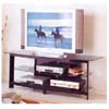 Black Entertainment Center w/Tempered Glass 2021 (ABC)