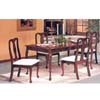 5-Pcs Cherry Finish Queen Anne Dinette Set 5000-T/5000-C(PJ)