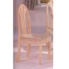 White Washed Finish Fan Back Chair 2190CW (A)