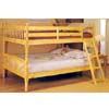 Natural Convertible Full/Full Bunk Bed 2290 (A)