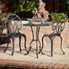 Aluminum Copper Bistro Set 232237(OFS)