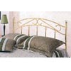 Brass Headboard With Porcelain Knobs 2457_ (CO)