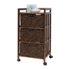 Large 3 Drawer Cart With Casters 24616(OI)