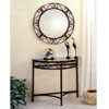 2-Piece Set Console Table With Wall Mirror 2464 (CO)