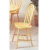 Natural Finish Arrow Back Windsor Chair 2482N (A)