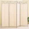 Four Panel Iron Decorative Room Divider Screen 2482(CO)