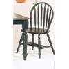 Oak/Green Arrow Back Windsor Chair 9714(WD)