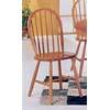 Oak Finish Windsor Chair 2613OAK (A)