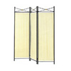Three Panel Screen with Black Medalion 2706(CO)