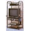 Black Entertainment Center With CD Rack 2729 (CO)