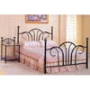 Satin Black Head/Footboard 2797_ (CO)