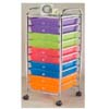 Rainbow Color of Plastic Drawers 2816(PJFS16)