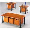 Wicker Basket Ocasional Table Set 28441 (WD)