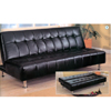 Black Futon Sofa Bed 300118 (CO)