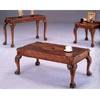 Brown Finish Coffee Table 3074 (CO)