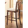Walnut Finish Bar Chair 3085 (CO)