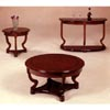 Cherry Finish Coffee Table With Parquet Design 3457 (CO)