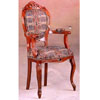 Italian Provincial Tapestry Arm Chair 3538 (CO)