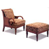 Island Inspired Chair And Ottoman 3611/12 (CO)