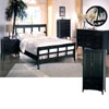 5-Pc Cappuccino Bed Room Set 376_(CO)