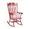 Cherry Finish Rocker 3516 (WD)