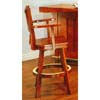Mission Style Oak Bar Chair 3878 (CO)