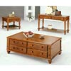 Solid Wood Coffee Table With Drawers 3889 (CO)