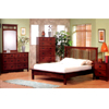 5-Pc Mission Style Bedroom Set In Dark Finish 39_ (CO)