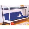 Twin/Full  Straight Metal Bunk Bed 4009 (ML)
