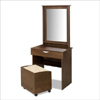 Truffle Vanity and Mirror 401216(NX)